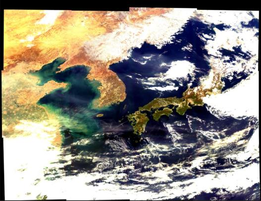 S. Korea's Environment Monitoring Satellite Sends First Maritime Images