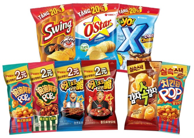 Orion Strengthening Snack Lineup Both Home and Abroad