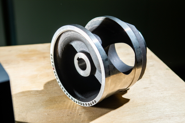 Single-channel pump's rotary device. (image: KITECH)