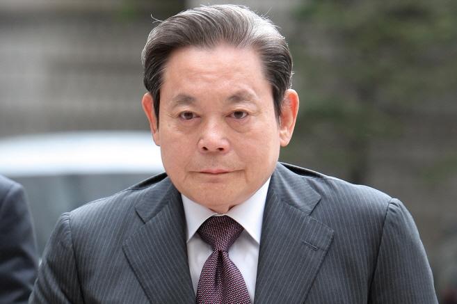 Samsung Group Chairman Lee Kun-hee (Yonhap)
