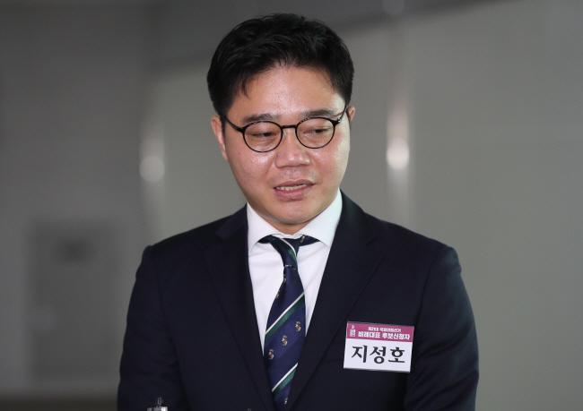 This file photo, taken on March 12, 2020, shows Ji Seong-ho, a North Korean defector and human rights activist. (Yonhap)