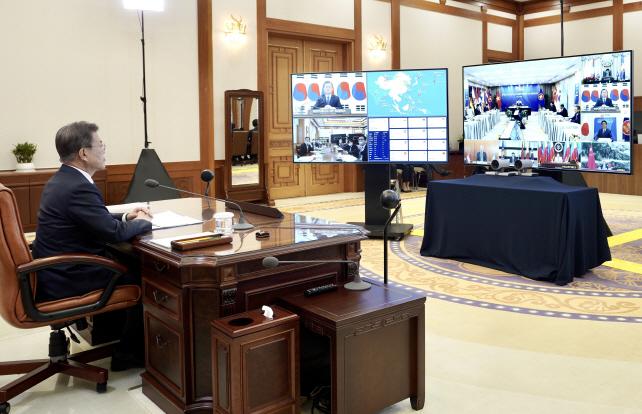 Videoconferencing Emerges as Key Diplomatic Tool amid Coronavirus Outbreaks