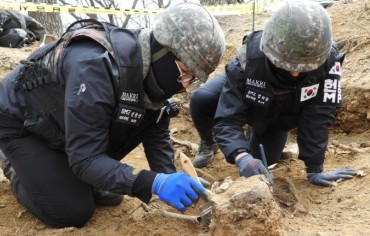 S. Korea Begins War Excavation Project for This Year
