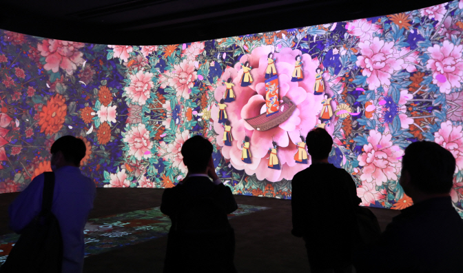 Nat'l Museum Opens New Digital Galleries with Cutting-edge Visual Tech