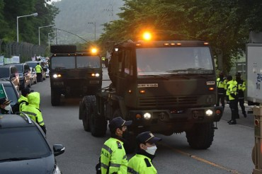 Replacement Interceptor Missiles Brought onto THAAD Base