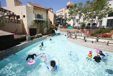 Water Park Opens with Social Distancing Measures