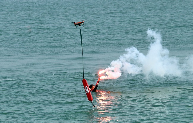 Gunsan Establishes Drone Patrol for Marine Search and Rescue Missions
