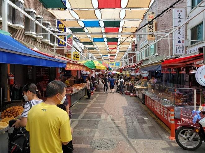 Daerim Market in Daerim-dong, Seoul (Yonhap)
