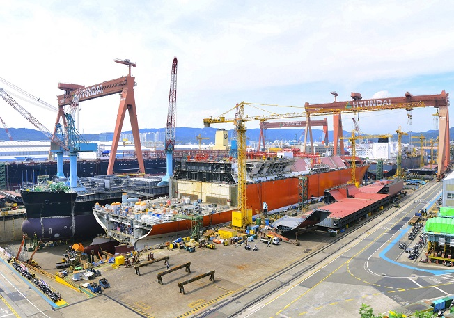 Korean Shipyards Sharply Off Order Targets on Pandemic