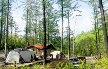 Coronavirus Prompts Koreans to Head to the Forest Instead of Beach for Summer Vacation