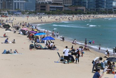 S. Korean Beaches Prepare for Social Distancing