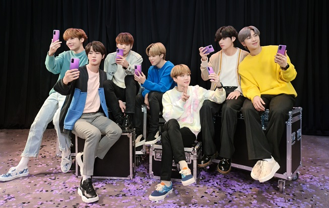 Online Preorders for BTS Edition of Galaxy Smartphone Sell Out in 1 Hour