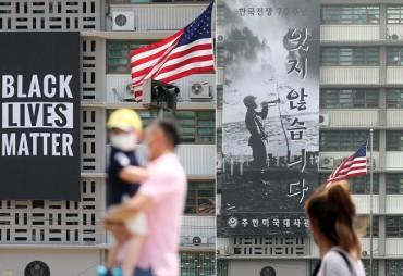 U.S. Embassy Says Black Lives Matter Banner Removed to Avoid 'Misperception'