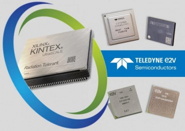 Space-Grade FPGAs from Xilinx Supported by Latest Additions to Teledyne e2v's Semiconductor Product Portfolio