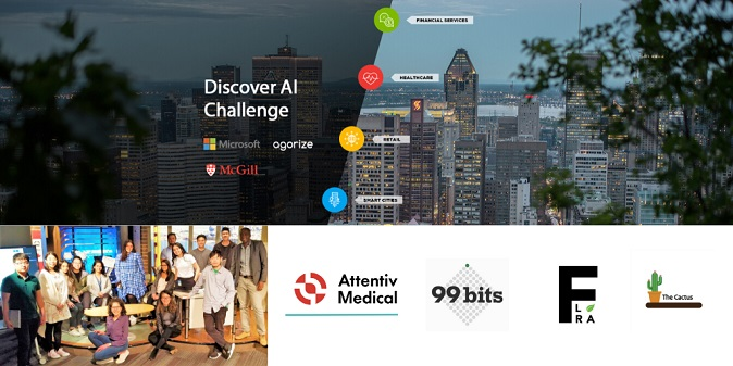 Co-op students who participated in the challenge (image: Agorize Innovation Inc.)