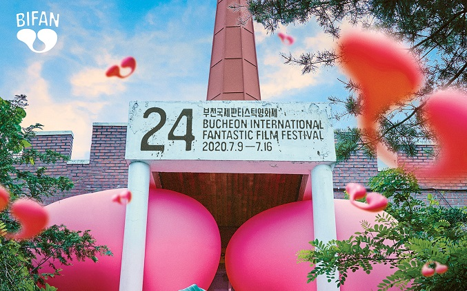 An official poster of the 24th Bucheon International Fantastic Film Festival provided by the event's organizers
