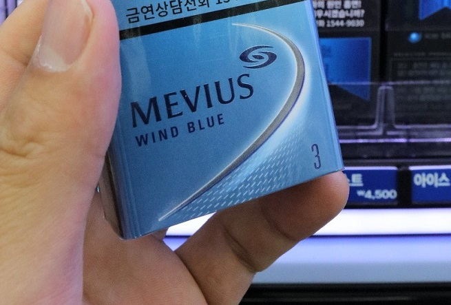 Japan Tobacco International(JTI)'s Mevius. JTI has remained unaffected by the boycott movement over the past 12 months. (Yonhap)