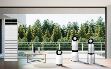 LG Electronics Seeks to Expand Overseas Sales of Air Purifiers