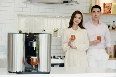 LG Electronics Unveils Homebrewing Machine at Affordable Price