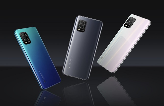 This photo from Xiaomi Corp.'s website shows the company's Mi 10 Lite 5G smartphone.