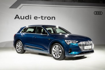 Audi Launches All-electric e-tron SUV in S. Korea