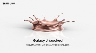Samsung to Unveil New Smartphones Online in Early August