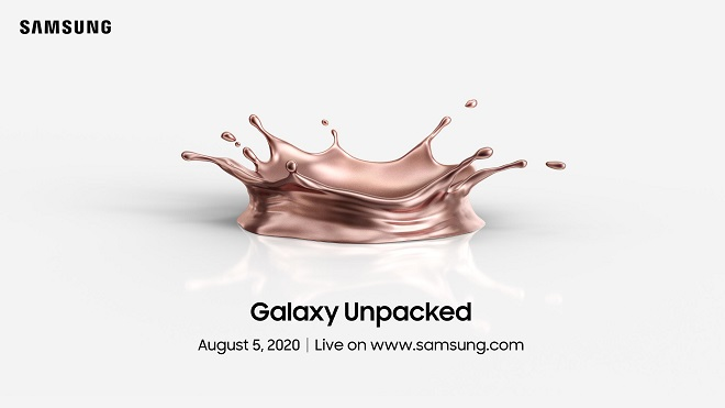 Samsung confirms new Galaxy Unpacked event for August