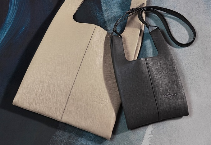 Mulberry's sustainable leather bags (image: Mulberry)