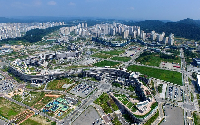 The government office complex in Sejong (Yonhap)