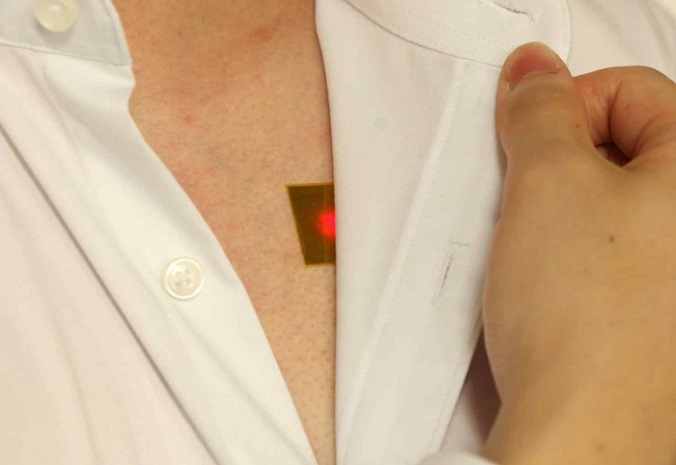 New LED Patch Supplies Power to Implanted Medical Devices