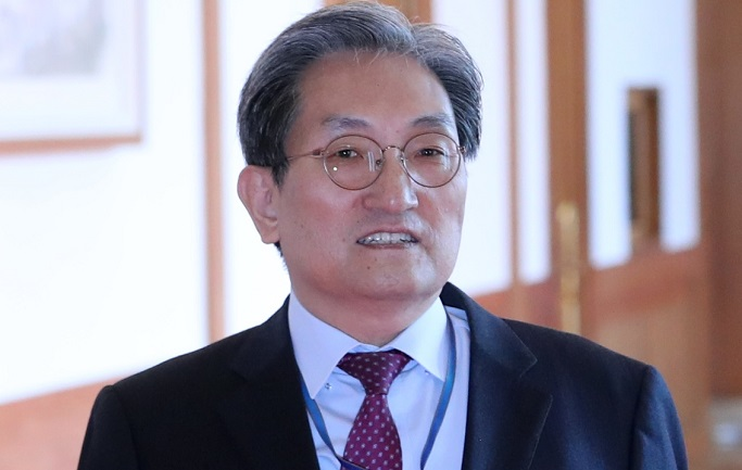 The presidential Chief of Staff Noh Young-min. (Yonhap)
