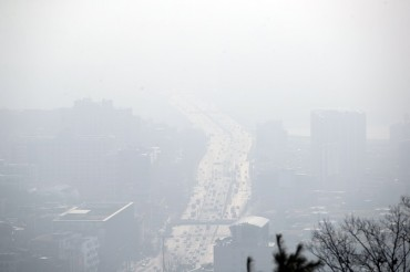 Air Pollution No. 1 Environmental Concern for S. Koreans