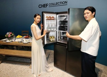 Samsung Releases New Luxury Refrigerator