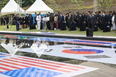 Osan City Holds Annual Memorial Event Honoring Fallen U.S. Soldiers in 1st Korean War Battle