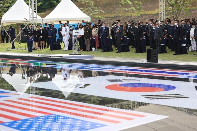 Osan City Holds Annual Memorial Event Honoring Fallen U.S. Soldiers in 1st Korean War Battle