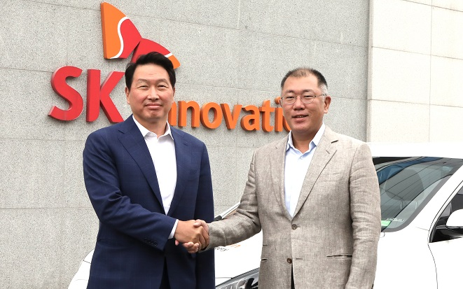 Hyundai, SK to Cooperate in EV Battery Business