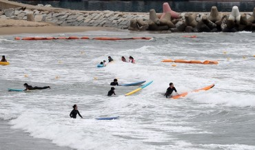 S. Korea Adopts Alert System on Crowded Beaches to Curb Virus Spread