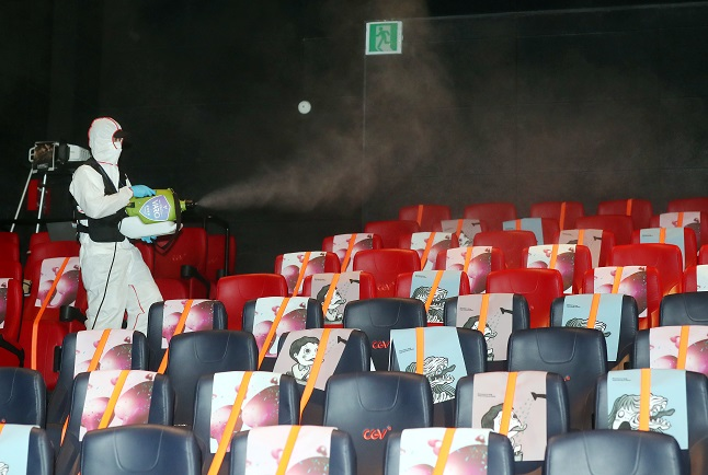 S. Korean Chain Reopens Cinemas in China as Coronavirus Slows