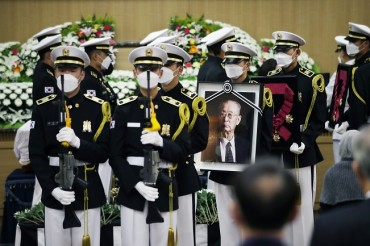 Korean War Hero Paik Laid to Rest