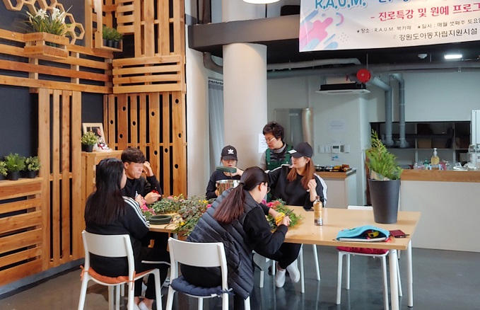 The Samsung Hope Didimdol Center provides a residential space for up to two years, while granting scholarships and living expenses. (image: Samsung Electronics)
