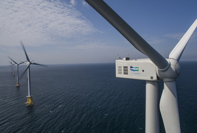Doosan Heavy Eager to Generate More Revenue from Offshore Wind Power Biz