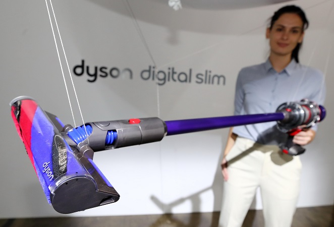 Dyson's New Vacuum Cleaner with Omnidirectional Head Makes Global Debut in S. Korea