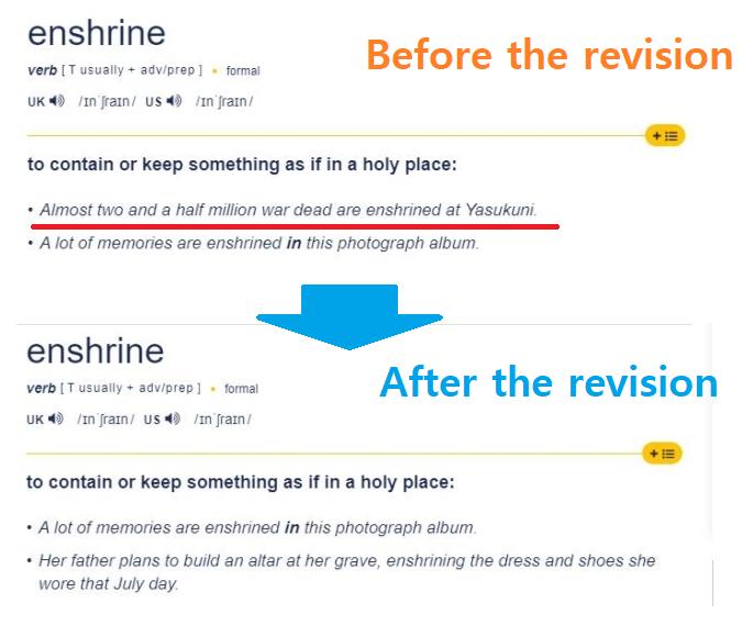 enshrine meaning