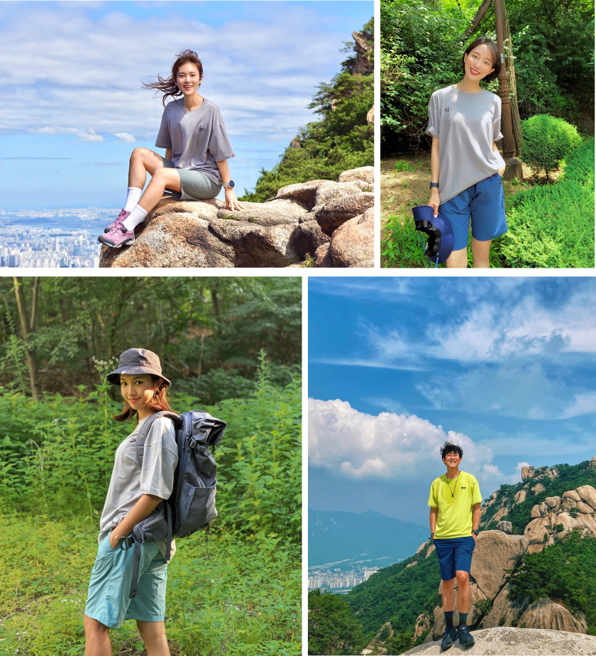 """Miele Korea's marketing campaign """"We support your hiking"""" featuring """"influencer"""" on social media sites, attracting young consumers' interest. (Image courtesy of Miele Korea)"""