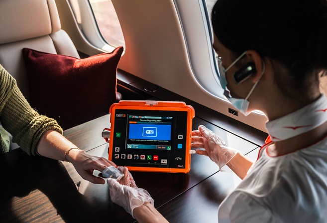 VistaJet Extends Onboard Medical and Safety Support for Its Global Customers