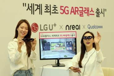 LG Uplus to Launch 5G-based AR Glasses with Nreal