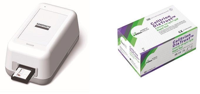 Celltrion's Coronavirus Test Kits Hit U.S.