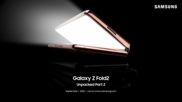 Samsung to Further Unveil Features of Galaxy Z Fold 2 Next Week