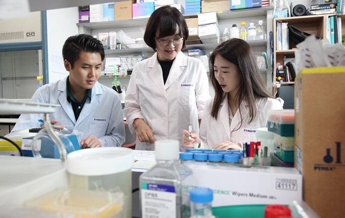 The Korea Research Institute of Bioscience and Biotechnology had developed an intestine organoid which is expected to clear the way for new research into intestinal microorganisms. (image: KRIBB)