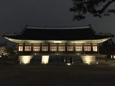 Nighttime Tour of Gyeongbok Palace to Begin in Sept.